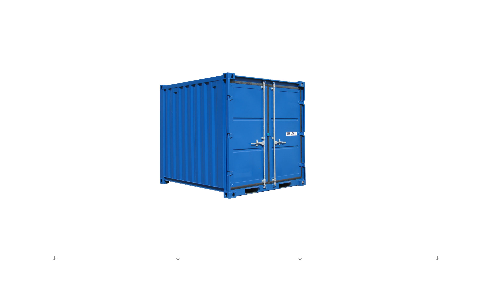 Container de stockage neuf
