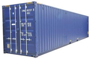 Container maritime de 12m high cube neuf, premier voyage