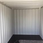 Intérieur d'un container de stockage