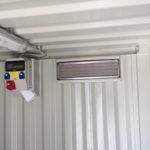 Pack électrique + chauffage dans un mini-container