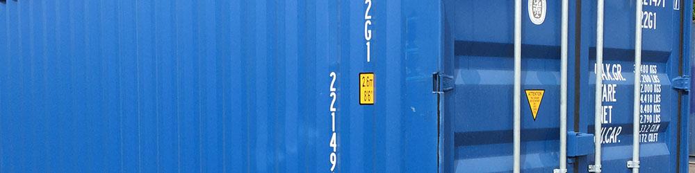 Conteneur 20' maritime