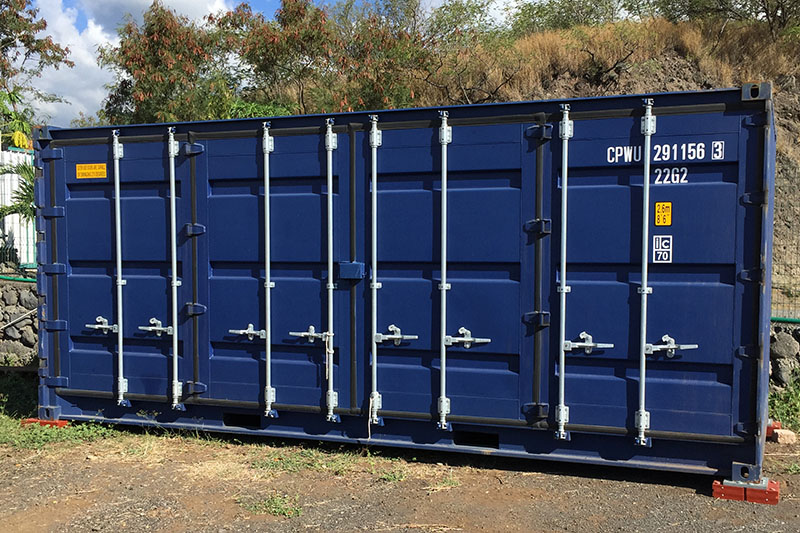 Container Open Side 6m fermé