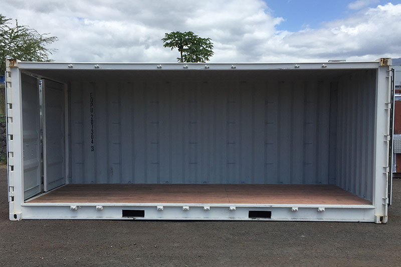 Container Open Side 6m
