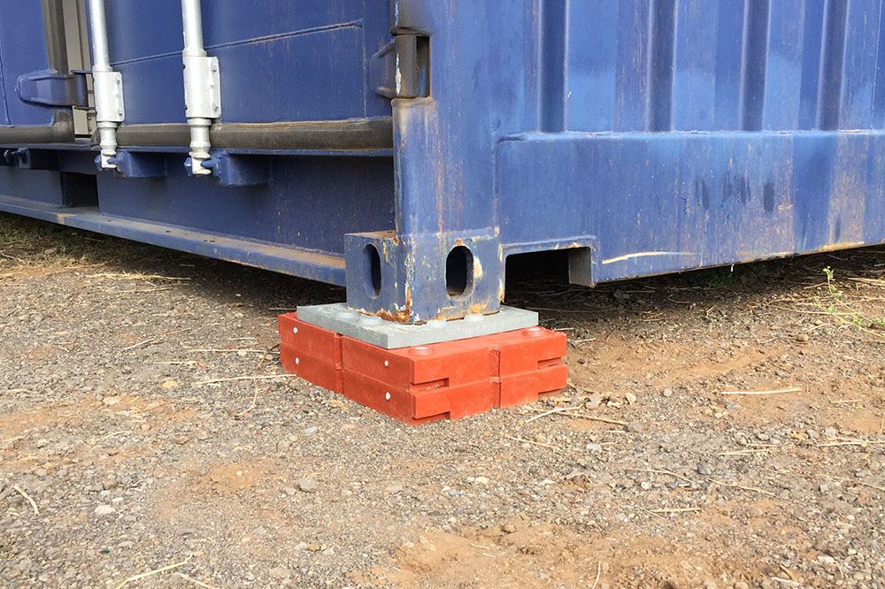 Cales pour container