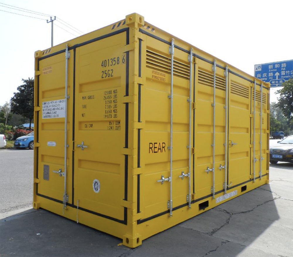 Container OS matières dangereuses