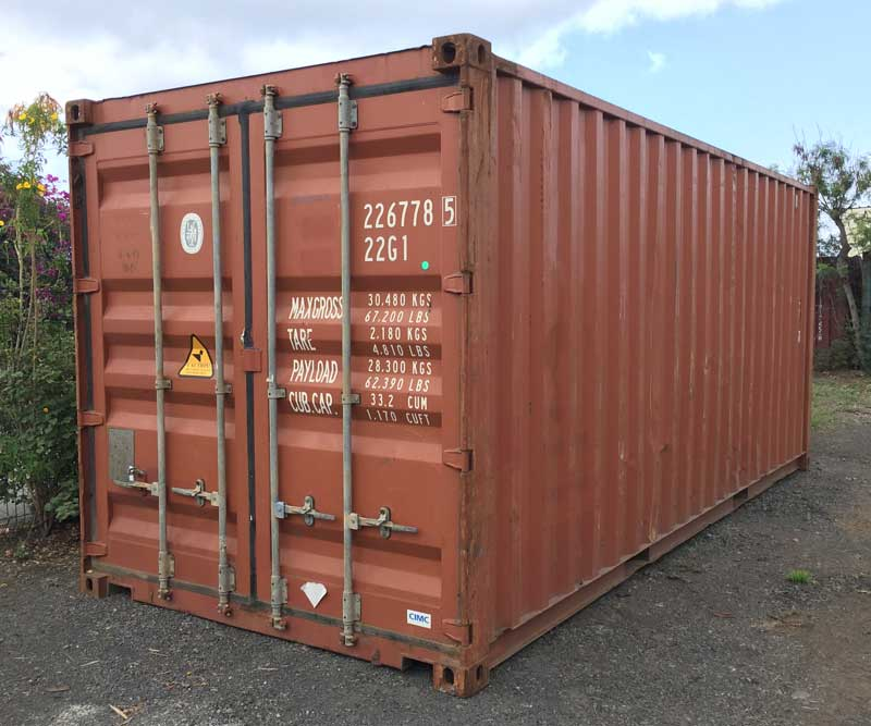 Container d'occasion 6m, 20'