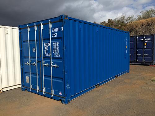 Container 6m bleu