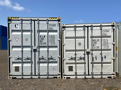 Containers High Cube VS Standard