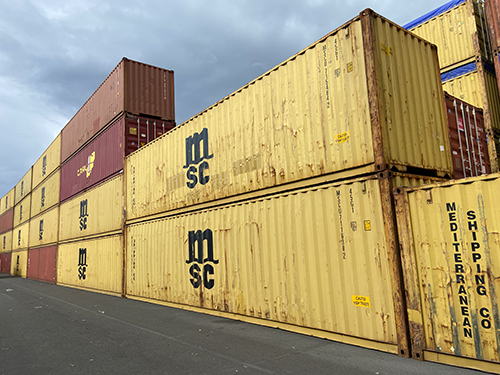Containers maritime d'occasion 12 m