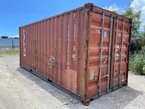 Container de 6m d'occasion