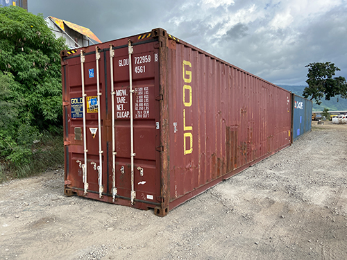 Container 40 pieds d'occasion
