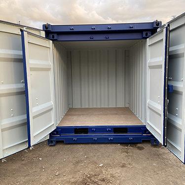 Set de containers maritimes