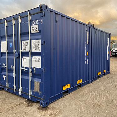 Containers de 10 pieds maritimes