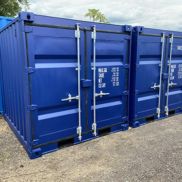Container de 8 pieds maritime